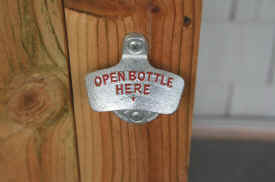 Each Chesapeake Cooler has an old fashioned Bottle Opener